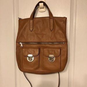 Brand new - Fossil Leather tote purse bag & strap